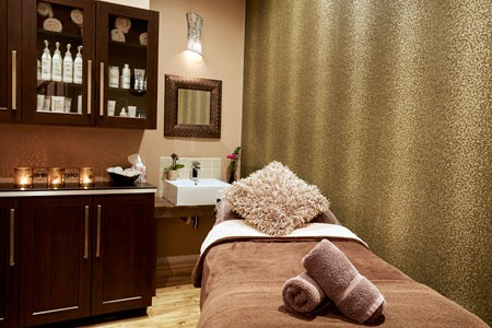 Treatment room at Icon Beauty