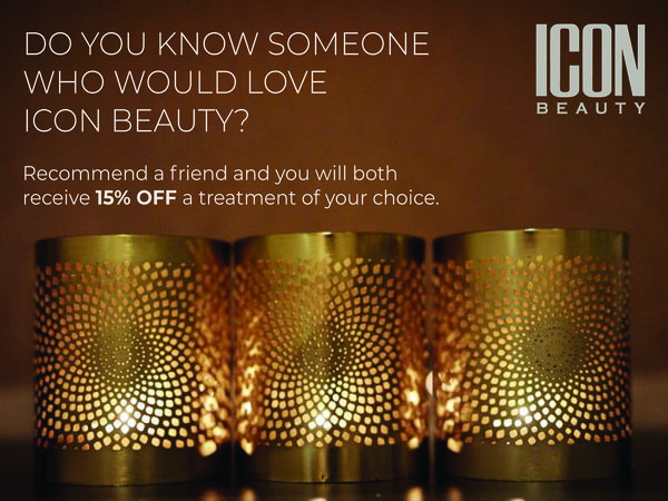 RECOMMEND A FRIEND & RECEIVE 15% OFF