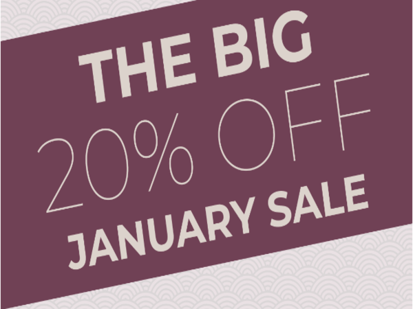 The BIG January Sale!